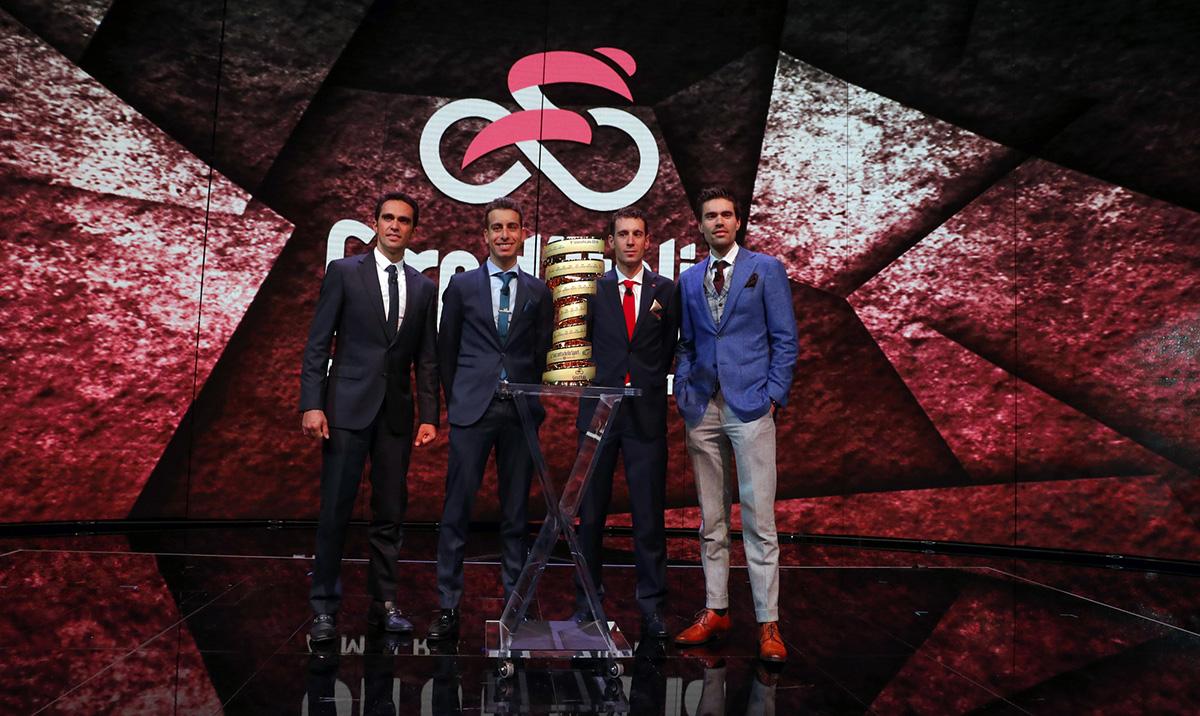 Dumoulin, Nibali, Aru y Contador reaccionan al recorrido del Giro 2018