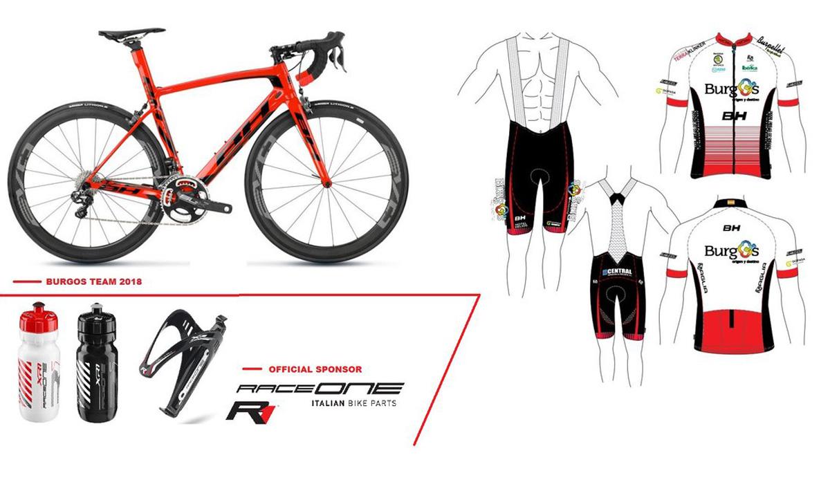 Burgos-BH presenta sus colores y su bici para 2018