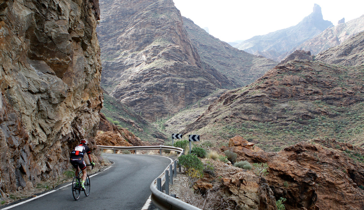 """El Desafío Gran Canaria """"La Titánica"""" alza el telón a la fiesta cicloturista de Gran Canaria"""