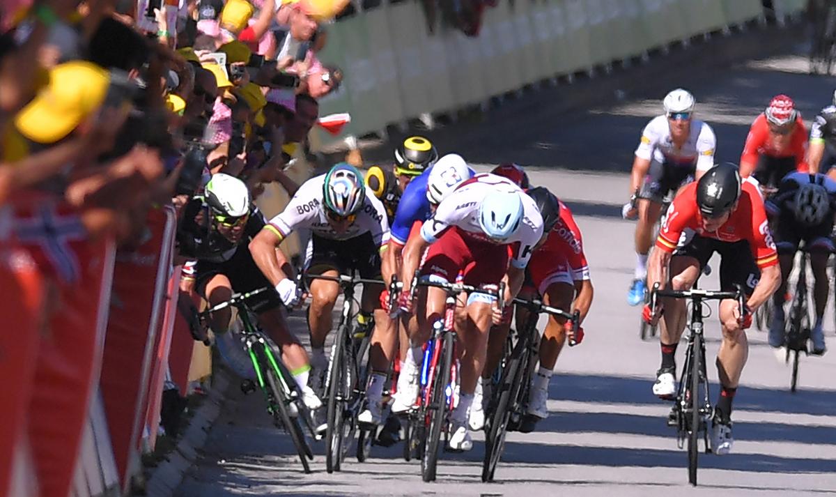 La UCI reconoce que Sagan no causó la caída de Cavendish en el Tour