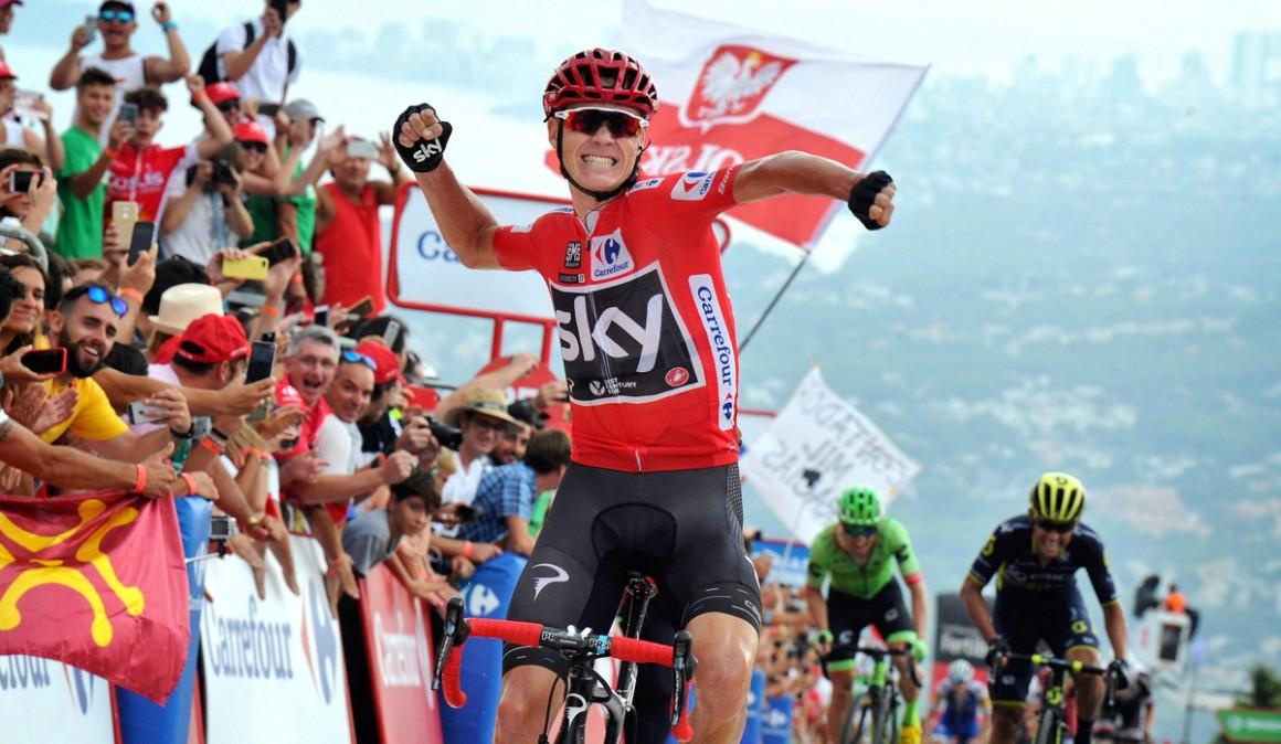 Chris Froome, positivo en la Vuelta a España 2017