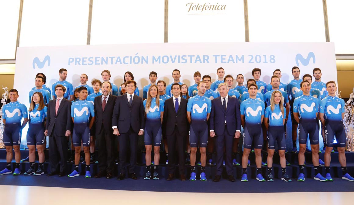 El Team Movistar de 2018