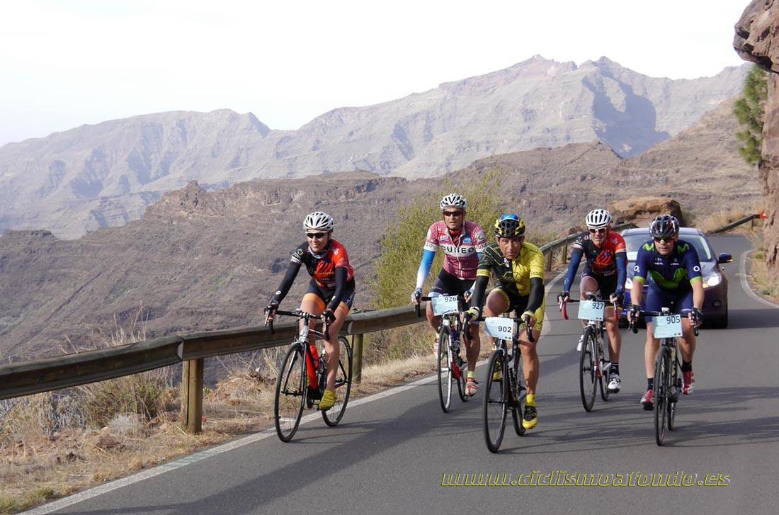Crónica, vídeo y fotos de la Vuelta Cicloturista Gran Canaria-Costa Mogán