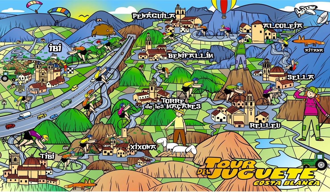 Ya puedes inscribirte para el Tour del Juguete Costa Blanca