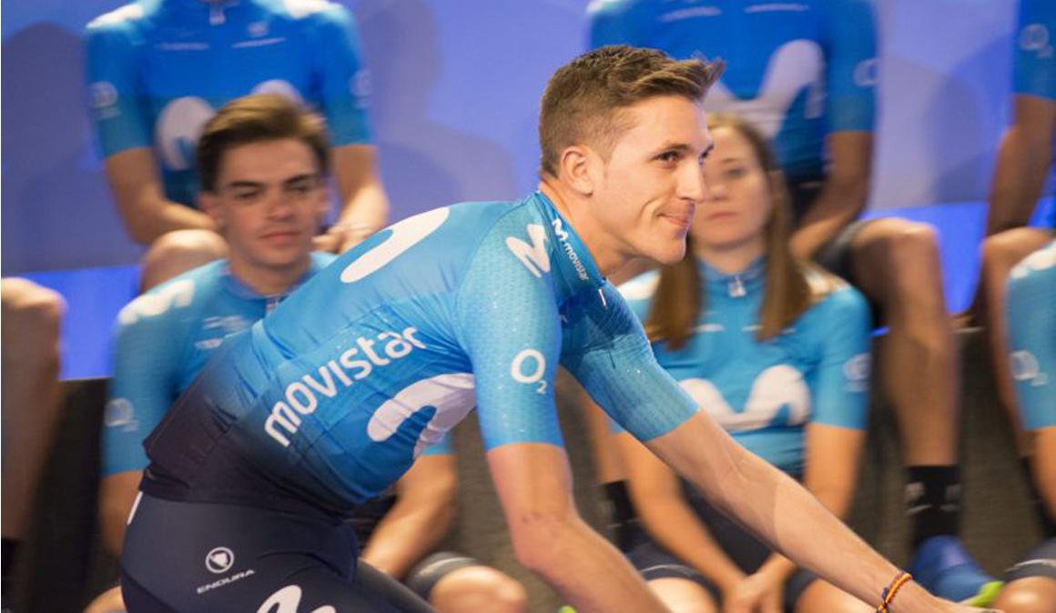 """Movistar abre temporada en el Tour Down Under con un """"siete"""" marcado por la juventud"""