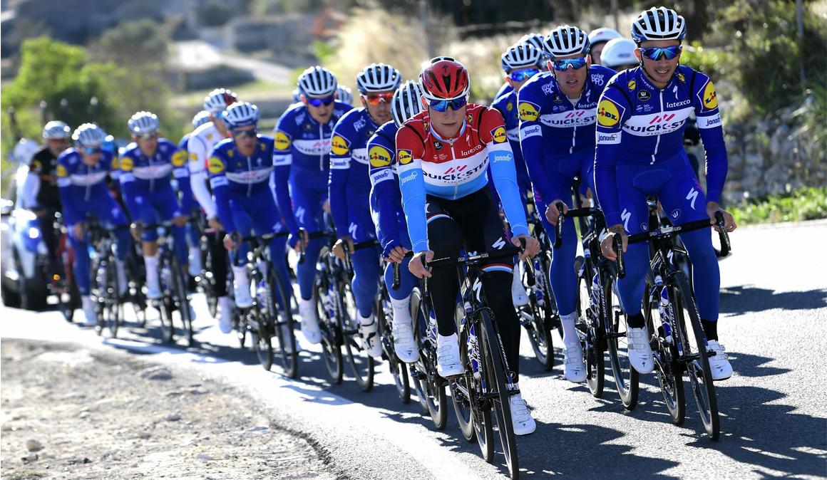 ¿Por dónde entrenan los ciclistas UCI Pro Tour en nuestro país?