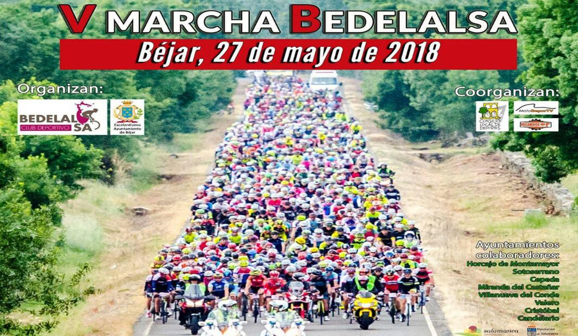 Últimas 390 plazas para la V Marcha Cicloturista Bedelalsa