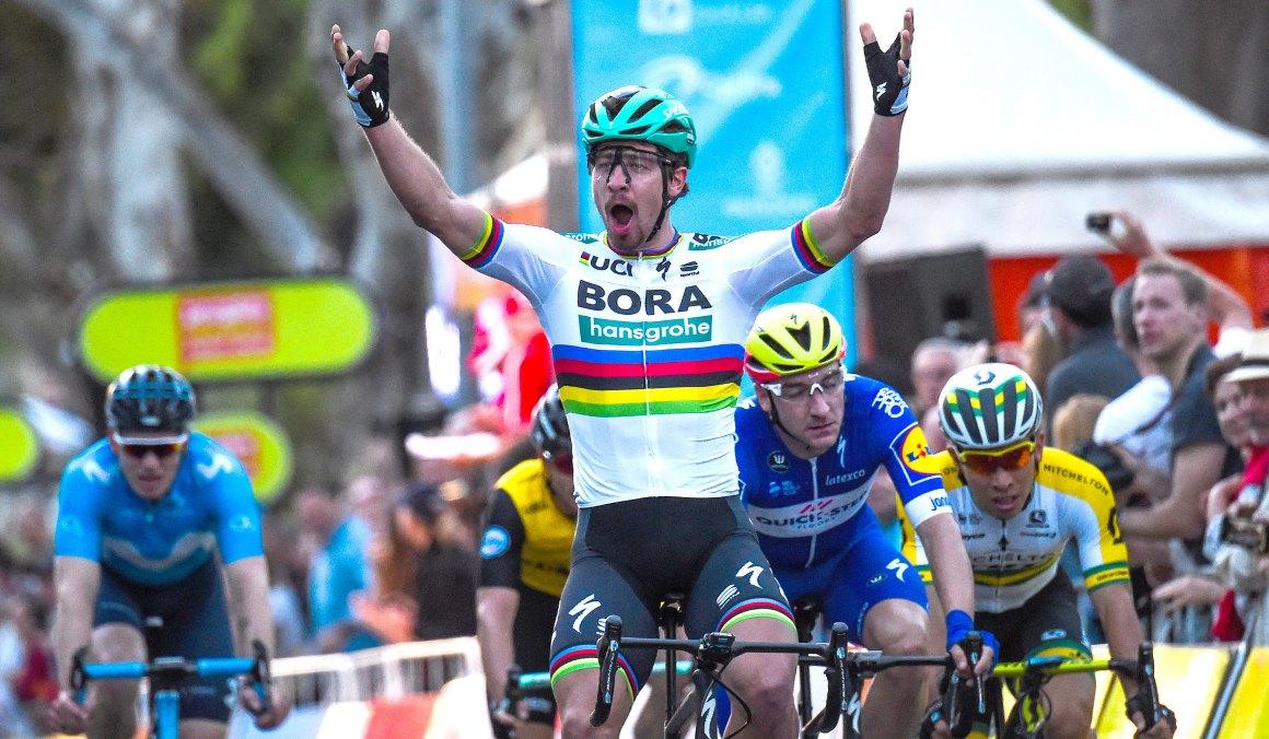 Sagan gana la clásica People's Choice, antesala del Down Under