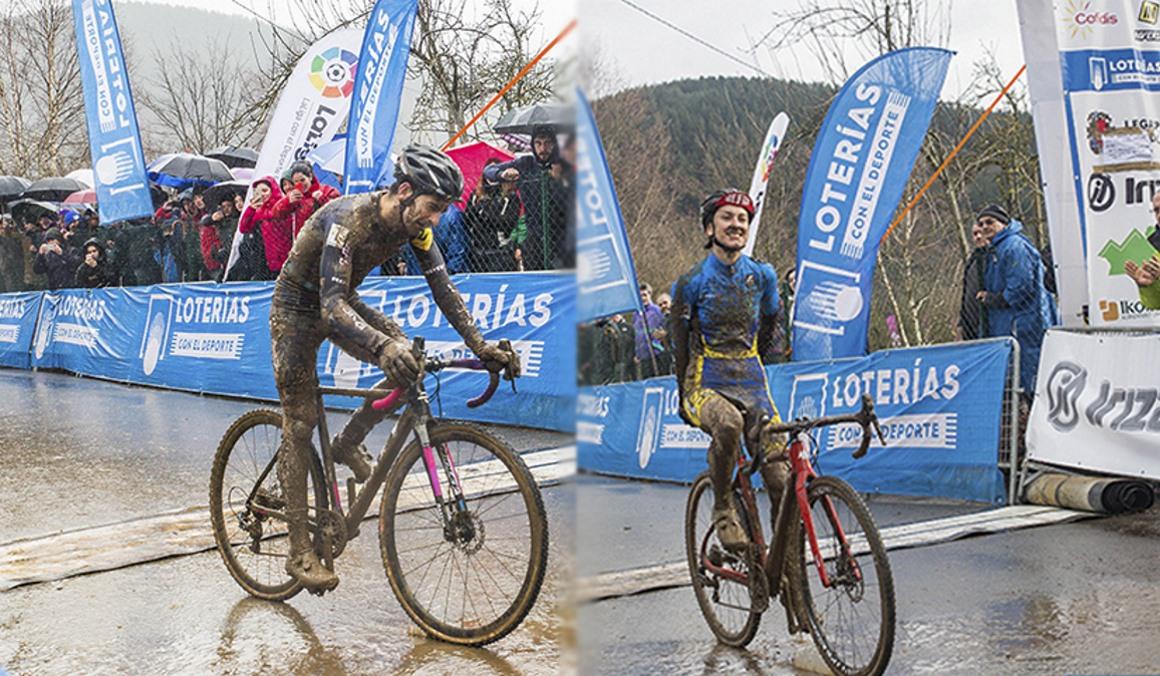 Esteban y Nuño revalidan sus títulos de Campeones de España de Ciclocross