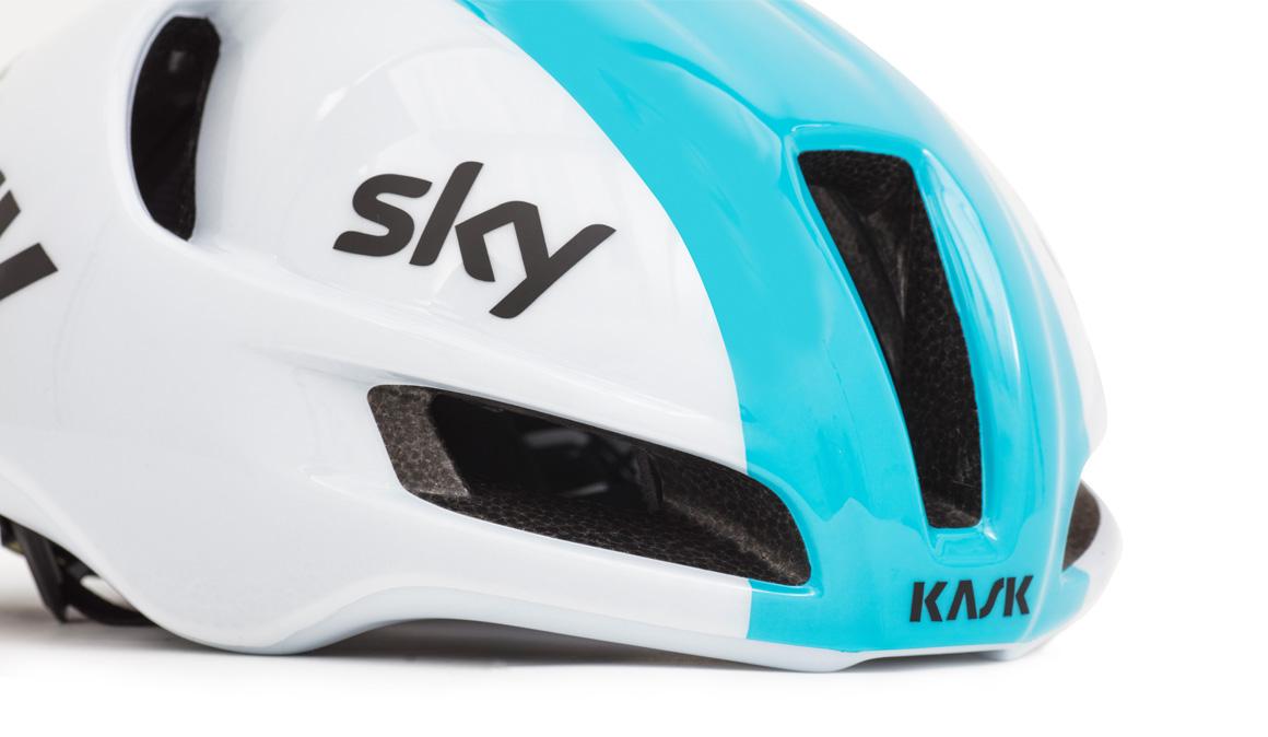 KASK presenta Utopia, el nuevo casco que lucirá el Team Sky en competición