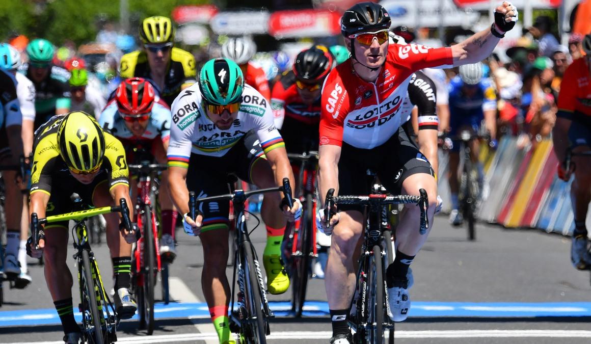 Greipel se impone en el primer duelo de sprinters en el Tour Down Under