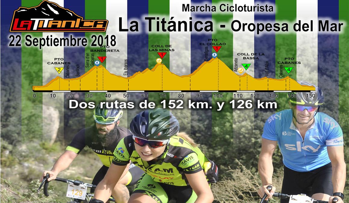 V marcha La Titánica: ciclismo con pasión