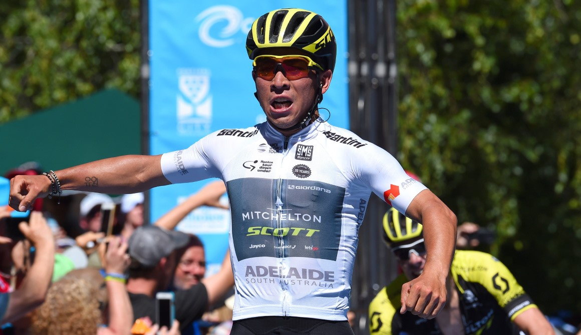 Caleb Ewan, victoria y liderato en el Tour Down Under