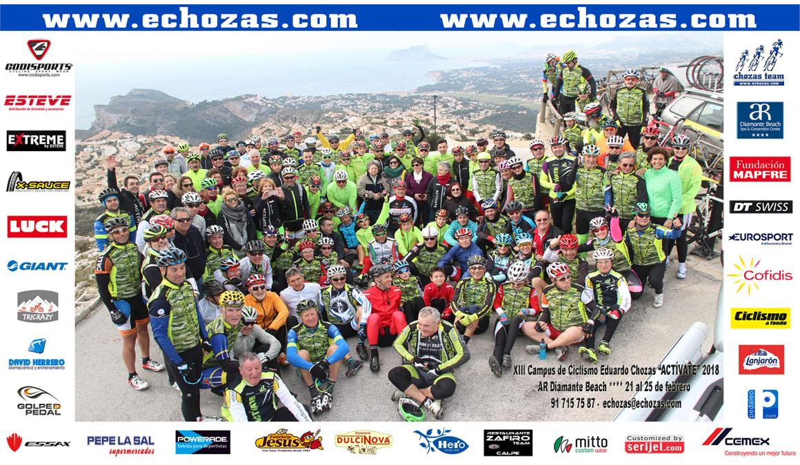 """XIII Campus de ciclismo """"Actívate"""" Eduardo Chozas"""