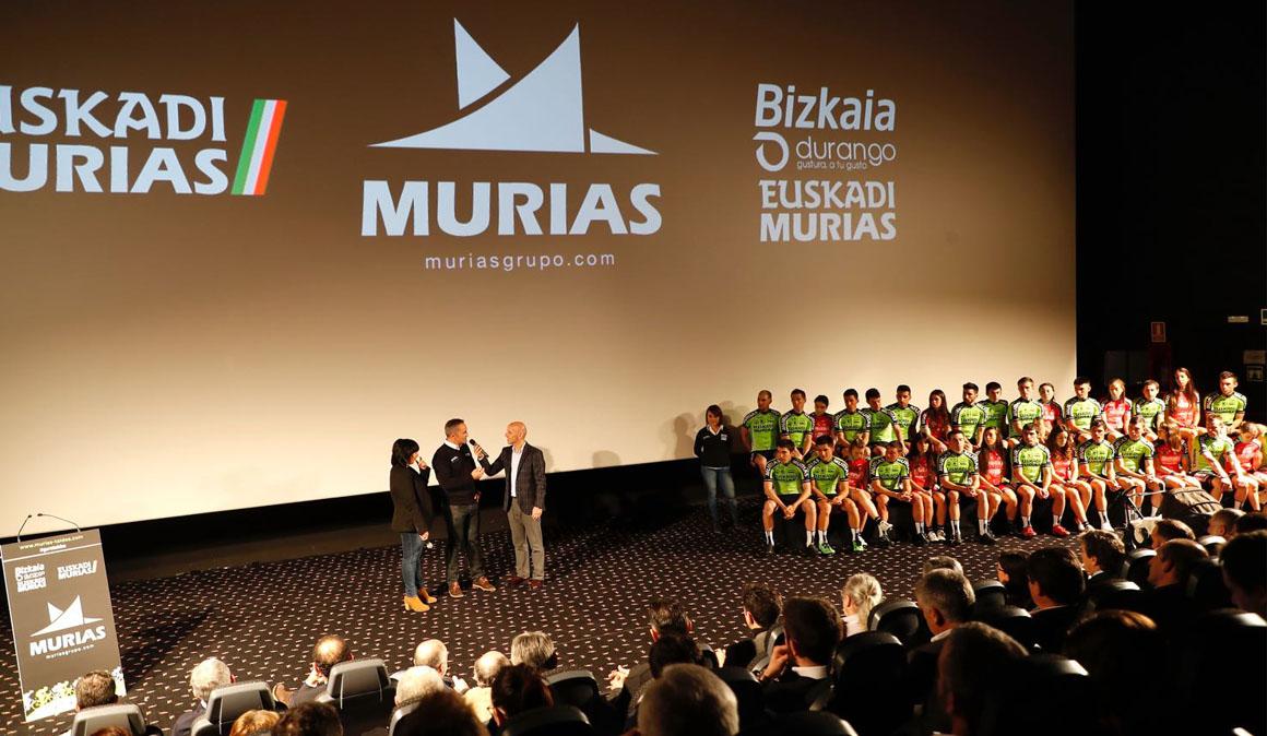 El Euskadi-Murias echa a andar en su nueva aventura Profesional Continental