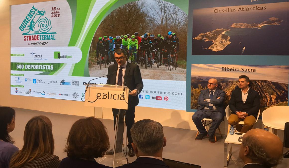 Presentada en FITUR la etapa de la Vuelta de la Ribeira Sacra