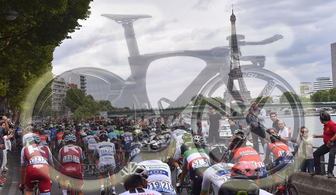 Las bicicletas de los equipos UCI World Tour