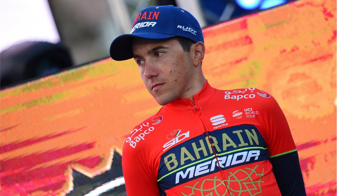 """Pozzovivo y la """"bonita responsabilidad"""" de ser líder en el Giro"""