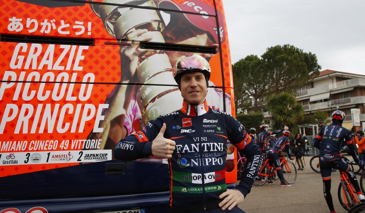 El Giro de Italia deja a Cunego sin su despedida soñada
