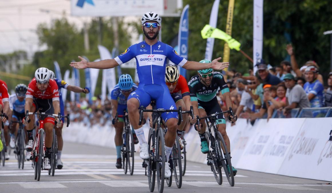 Gaviria no tiene rival en la 1ª etapa de la Vuelta a San Juan