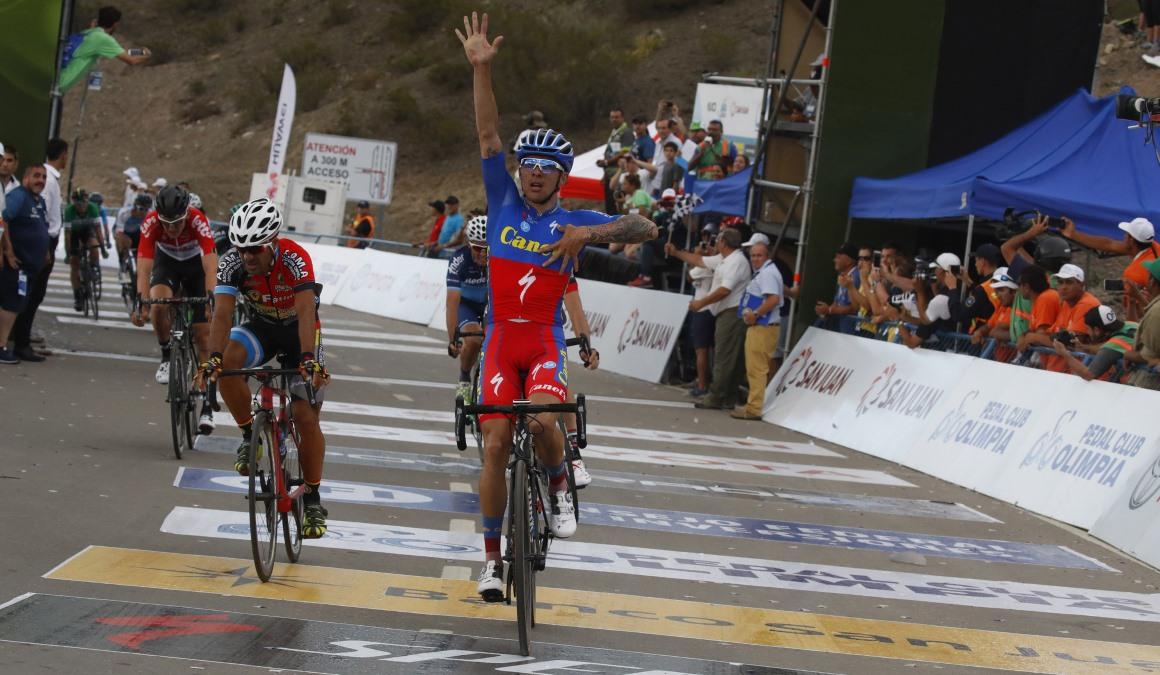 Román Villalobos da la sorpresa en la 2º etapa de la Vuelta a San Juan