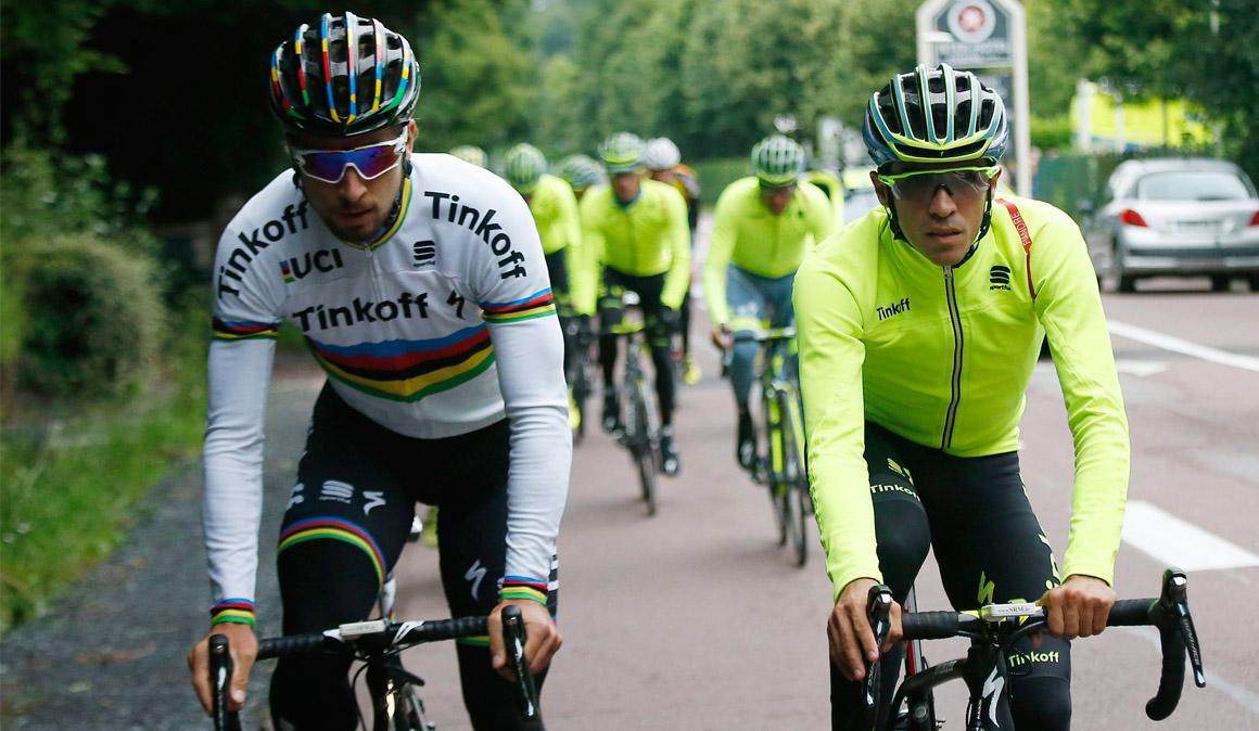 Peter Sagan elogia a Contador