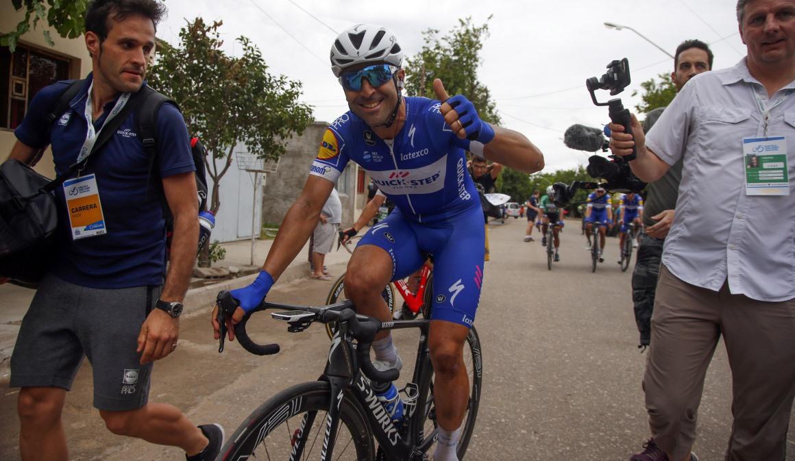 Maximiliano Richeze, feliz de volver a ganar en Argentina