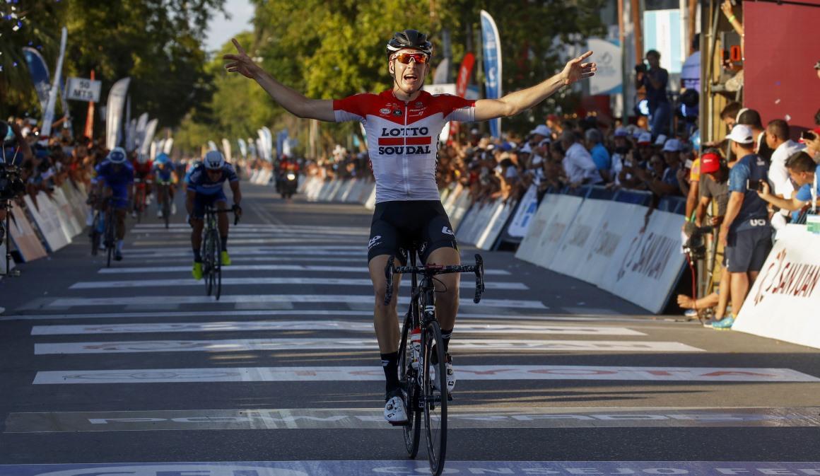 Vuelta a San Juan: Wallays se lleva la 6ª etapa y Najar mantiene el liderato