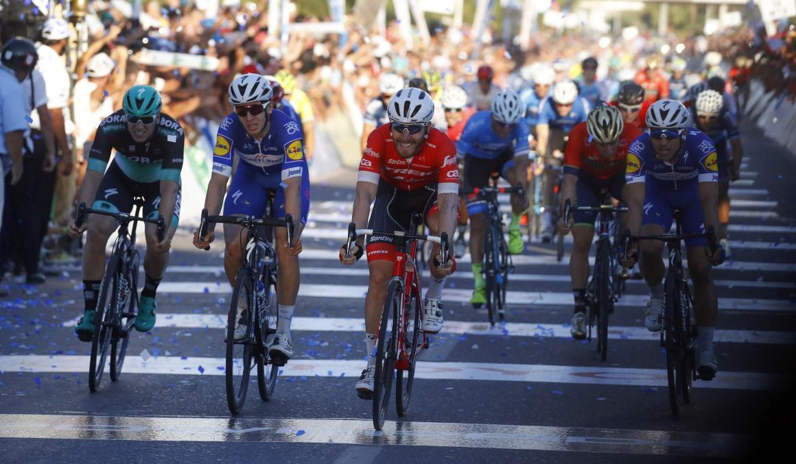 Vuelta a San Juan: Nizzolo se lleva el último sprint