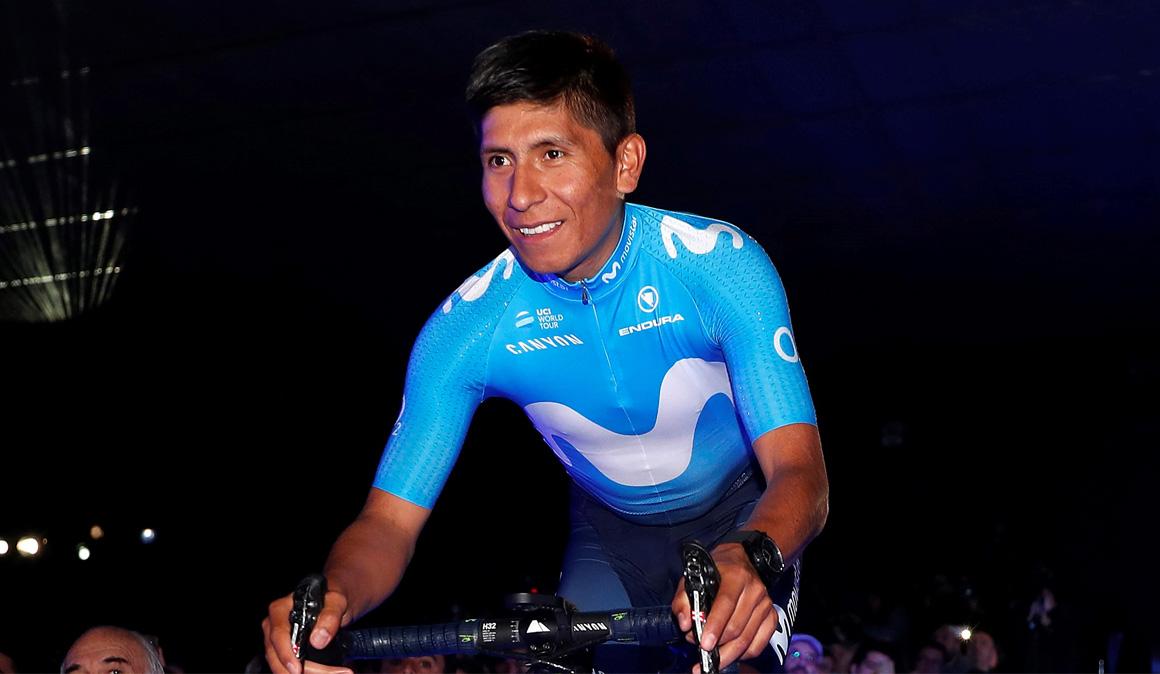 Nairo Quintana, de estreno en Colombia