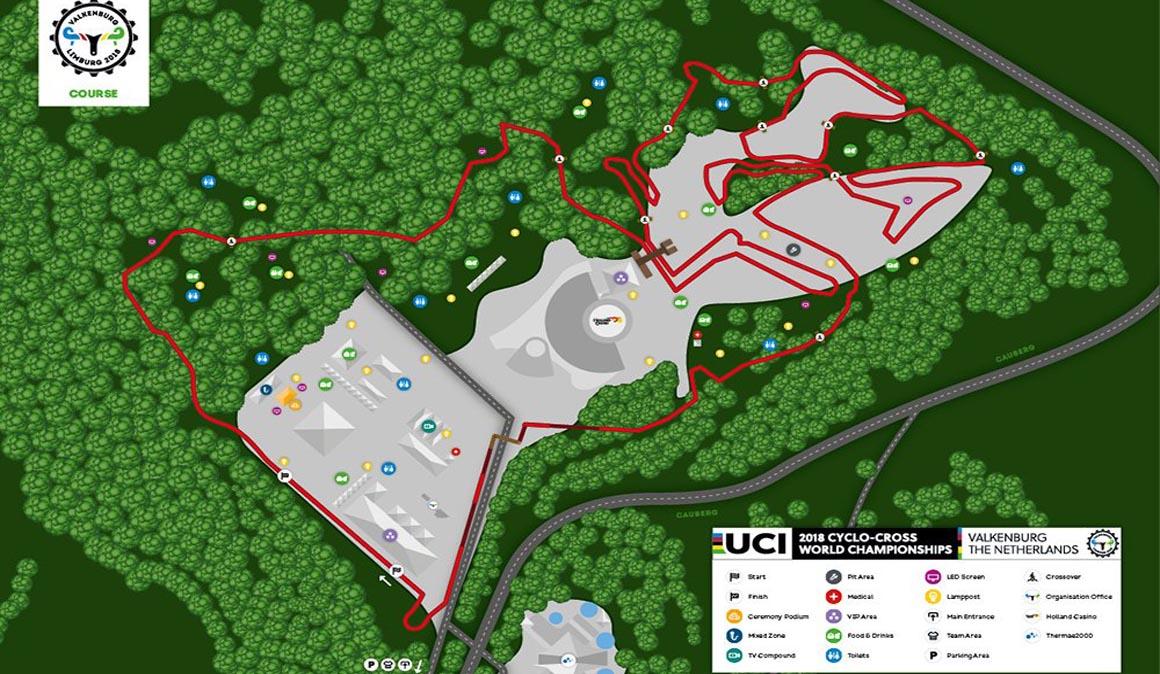 El Mundial de ciclocross en Valkenburg