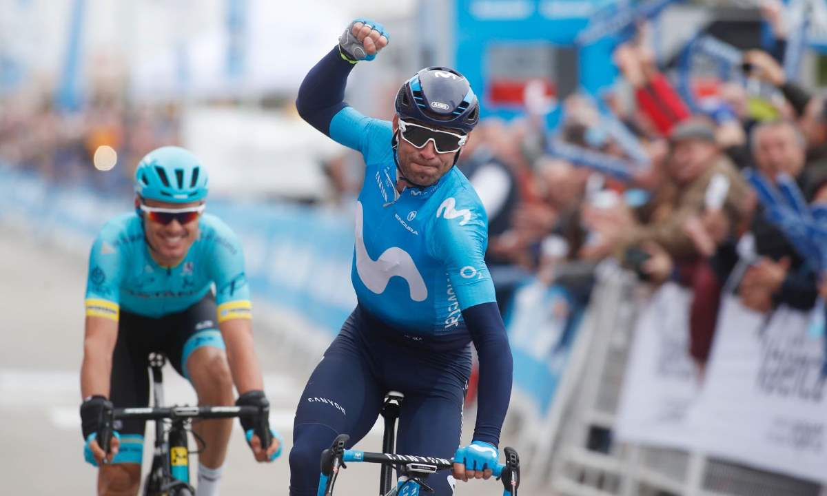 Volta a la Comunitat Valenciana, Valverde escapada y sprint