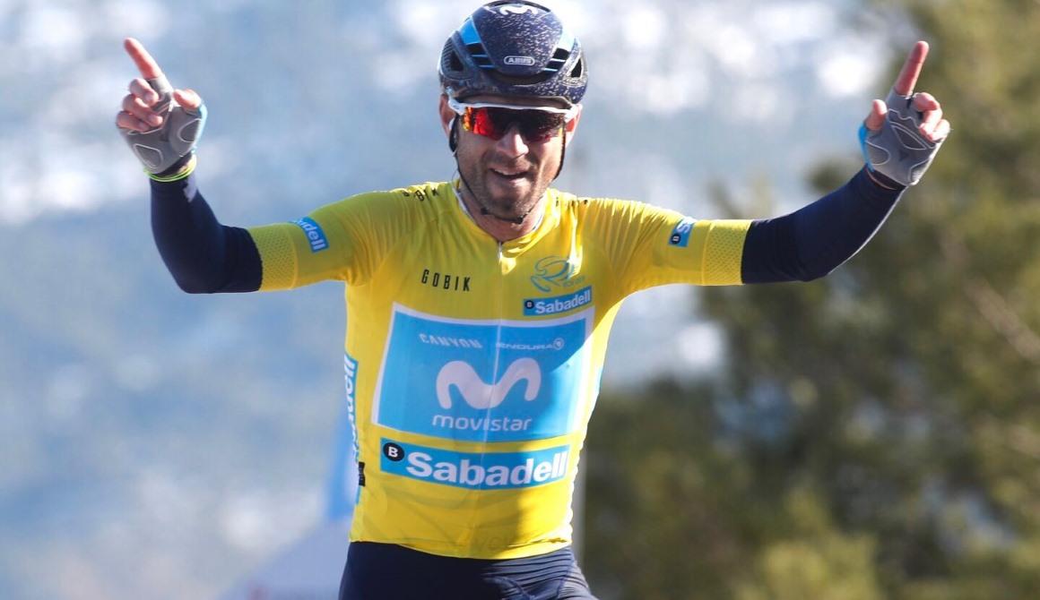 El mejor Valverde se exhibe en la etapa reina de la Volta a la Comunitat Valenciana