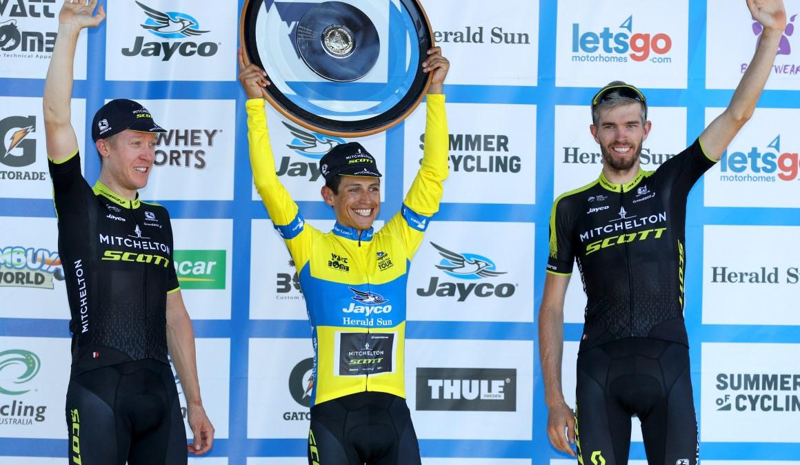 Esteban Chaves, campeón del Herald Sun Tour