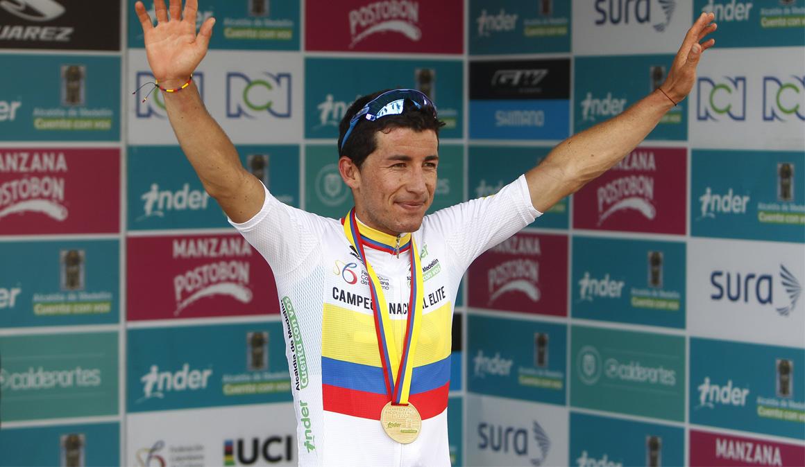 Sergio Luis Henao repite como campeón nacional de ruta de Colombia