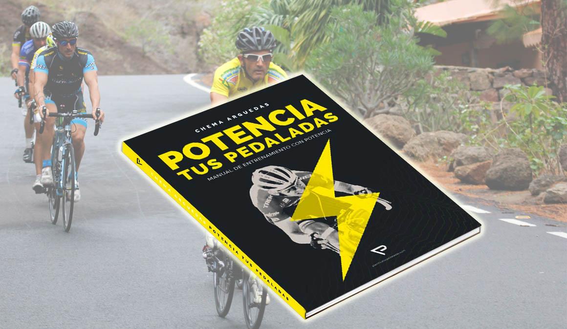Potencia tus pedaladas, el nuevo libro de Chema Arguedas