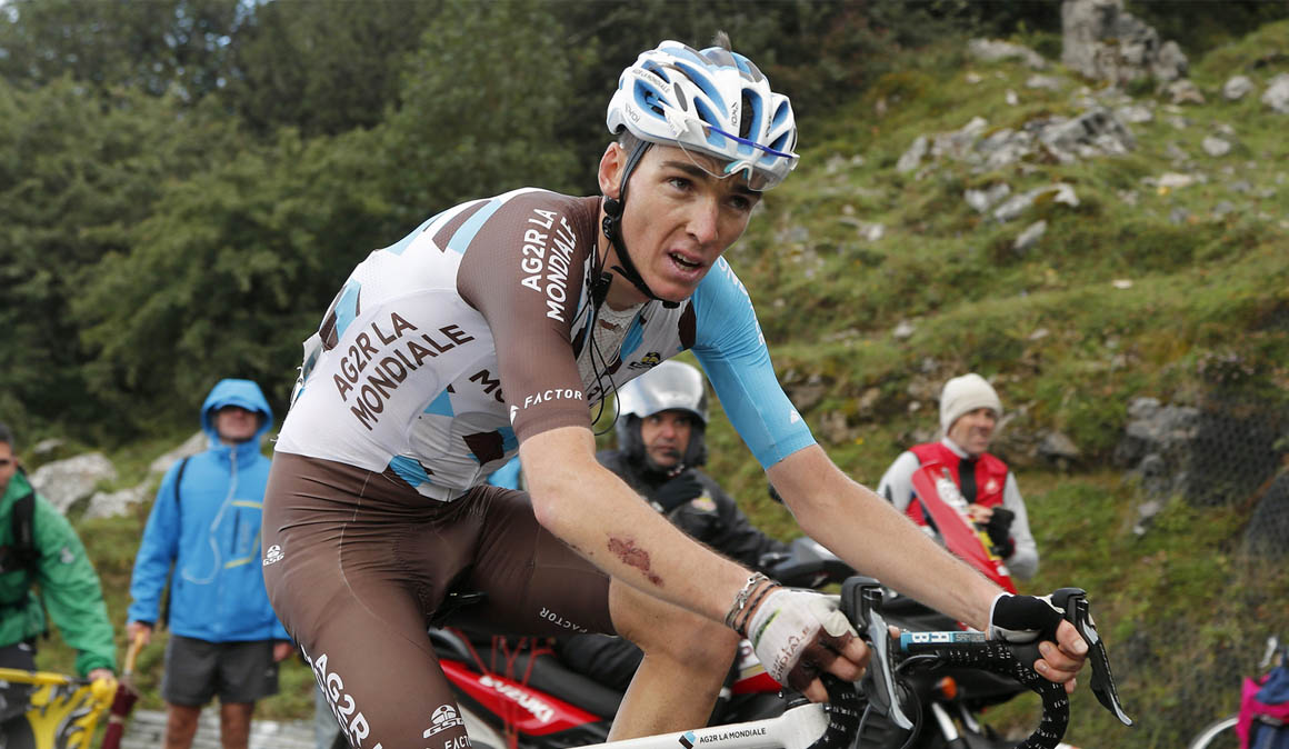Romain Bardet de baja por un accidente doméstico