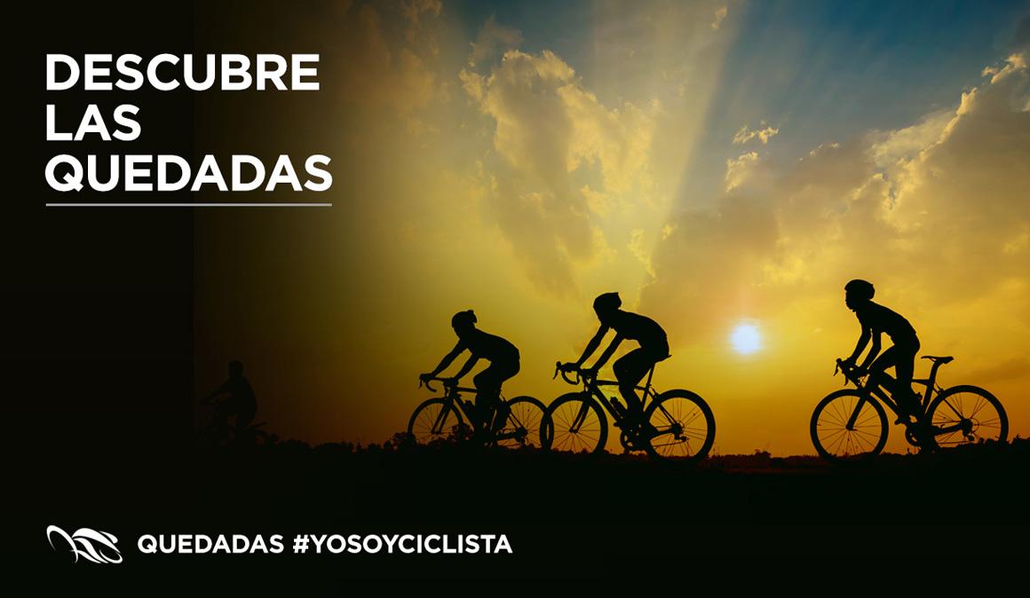 Nacen las #QuedadasCiclistas YoSoyCiclista