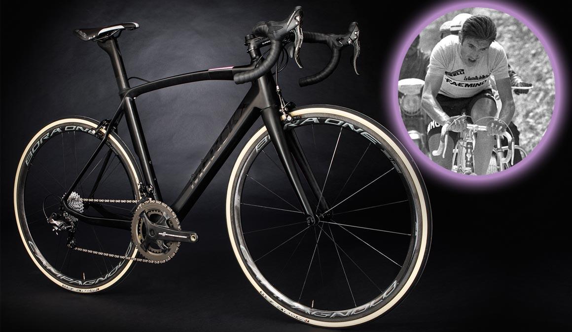 La bicicleta ITALIA50 de Eddy Merckx Bikes