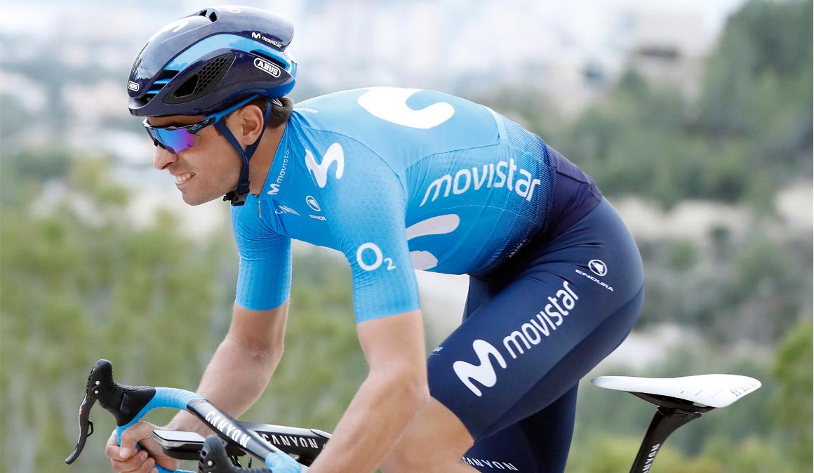 Mikel Landa debuta con Movistar en la Vuelta Andalucía