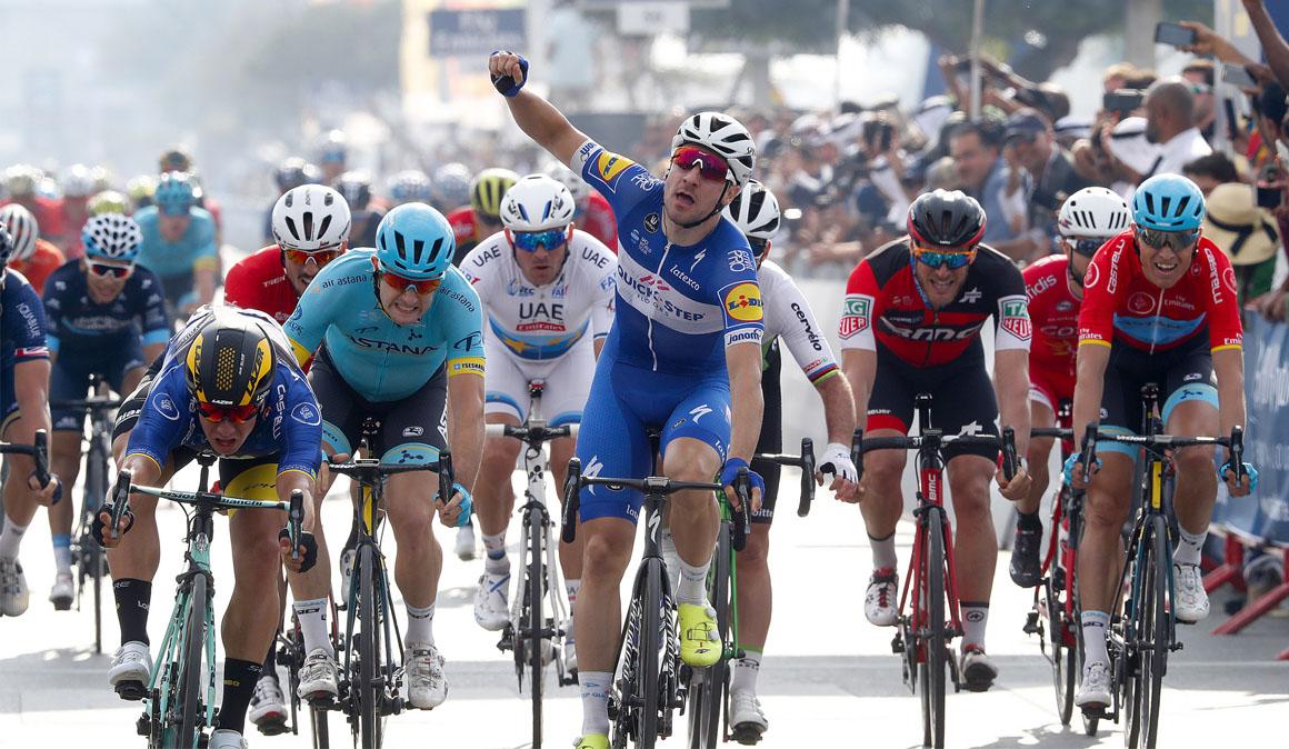 Viviani: cumpleaños y victoria en la 2ª etapa del Dubai Tour