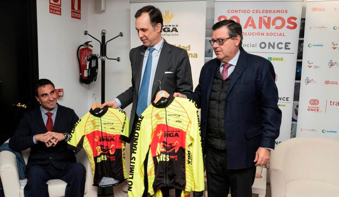 Grupo Caja Rural, Seguros RGA y Fundación ONCE con el ciclismo adaptado