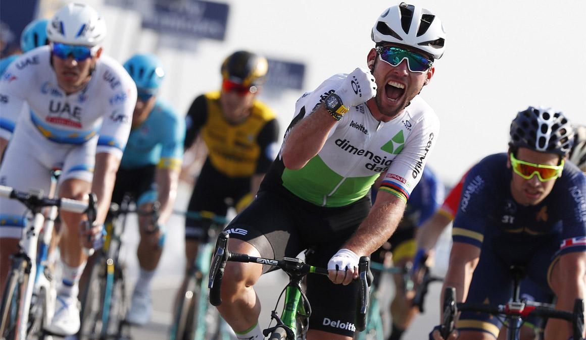 Cavendish se reencuentra con la victoria en el Dubai Tour