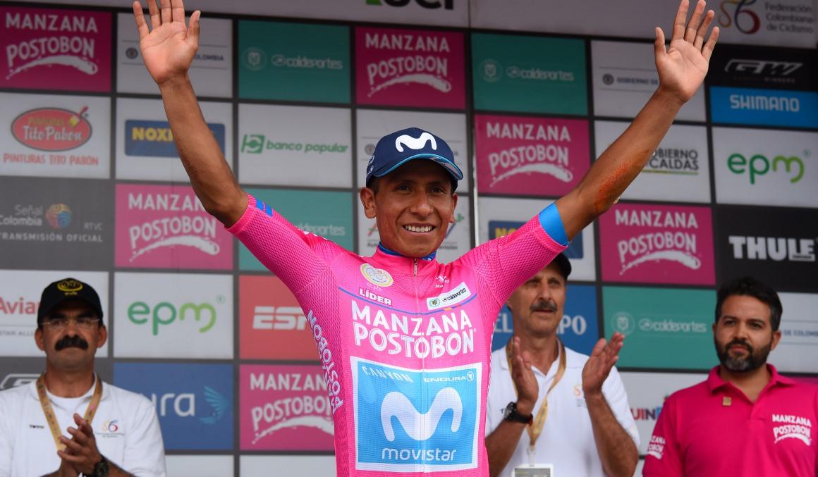Urán gana la 5ª etapa; Nairo Quintana líder de la Colombia Oro y Paz