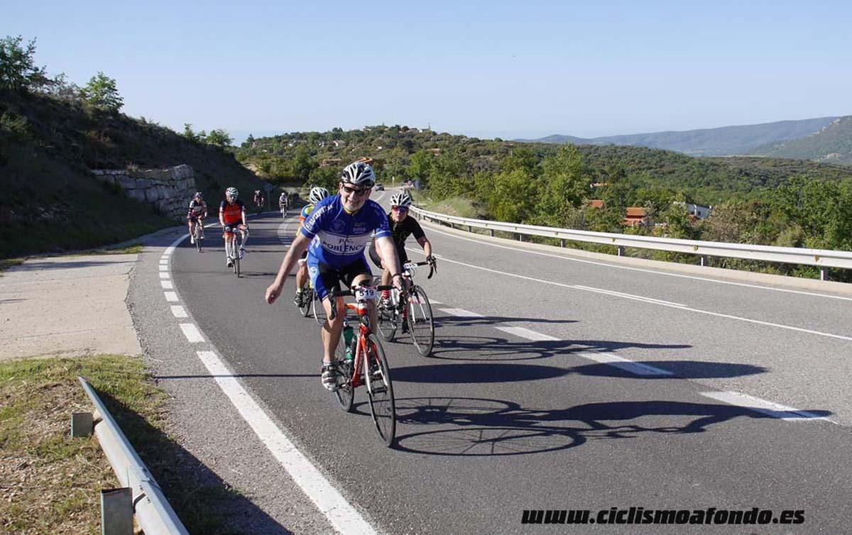 La marcha cicloturista Montsec-Montsec celebra su décimo aniversario
