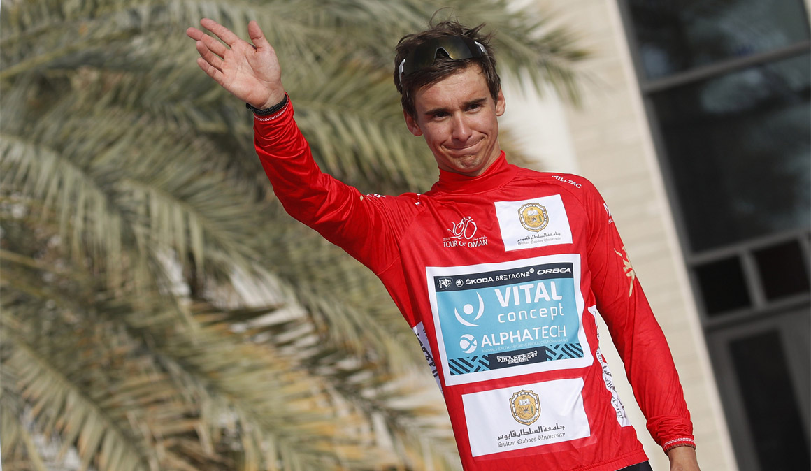 Bryan Coquard, primer líder del Tour de Omán
