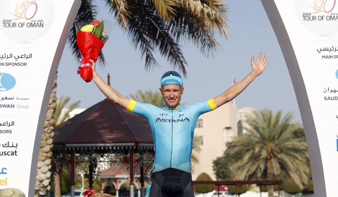 Magnus Cort se lleva la 4ª etapa del Tour de Omán; Van Avermaet sigue líder