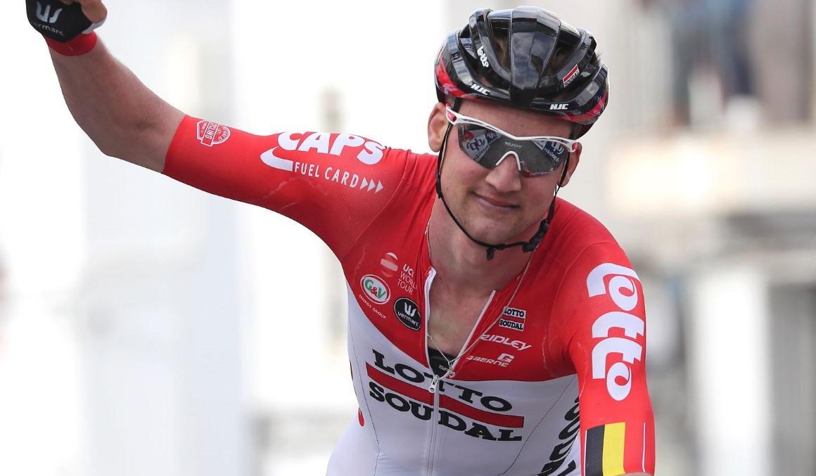 Tim Wellens, victoria y liderato en la Vuelta a Andalucía
