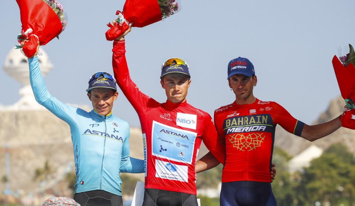 Alexey Lutsenko conquista el Tour de Omán