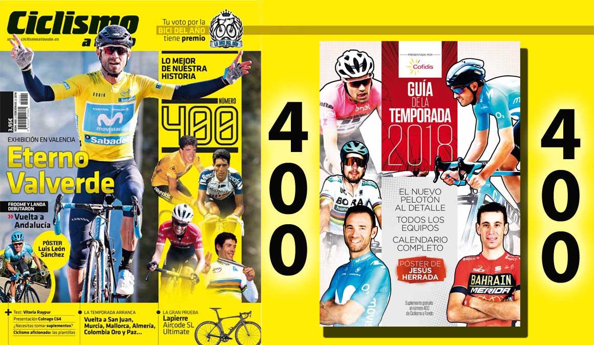 ¡Ciclismo a Fondo nº400 ya a la venta!